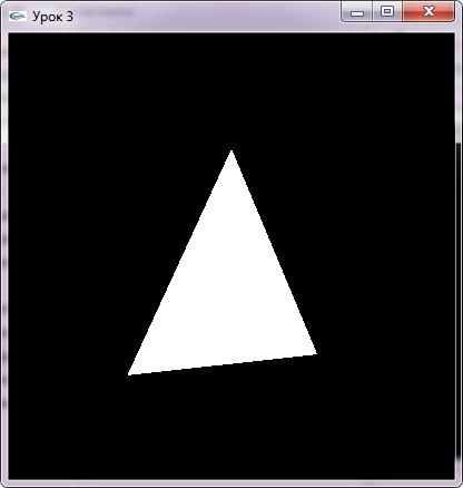 Вращающийся треугольник